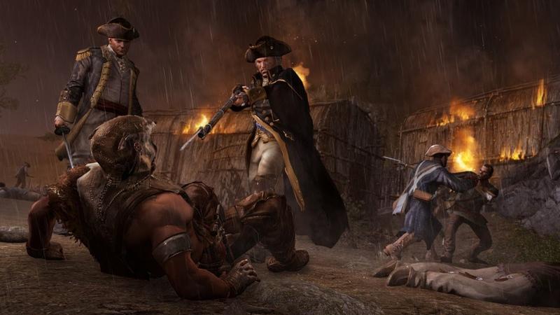 Assassin's Creed 3 Remastered Тирания короля Джорджа Вашингтона Часть 6 Побег в Нью Йорк