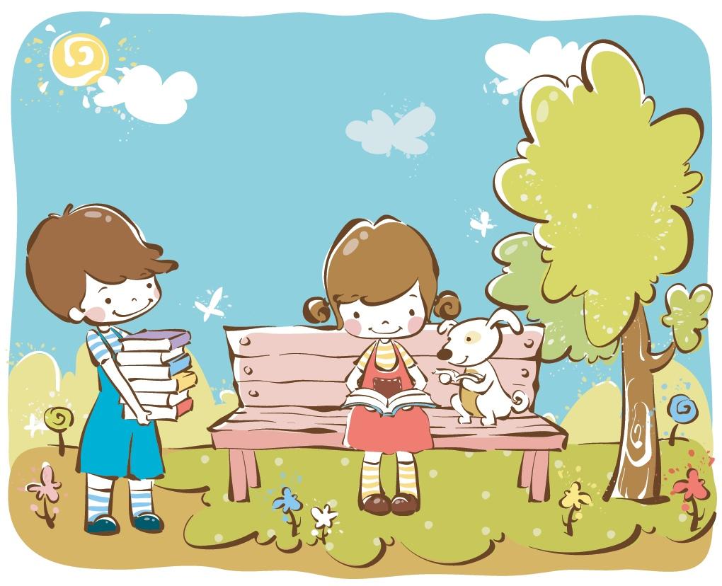 картинка надпись читающая скамейка жизнь тебя радует