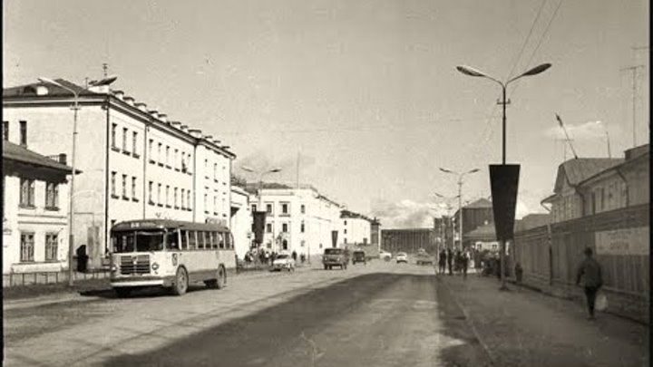 Якутск в 1970-е годы / Yakutsk in the 1970s