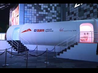 Virgin Hyperloop One Unveils High-Tech Passenger Pod in Dubai #robotmoda