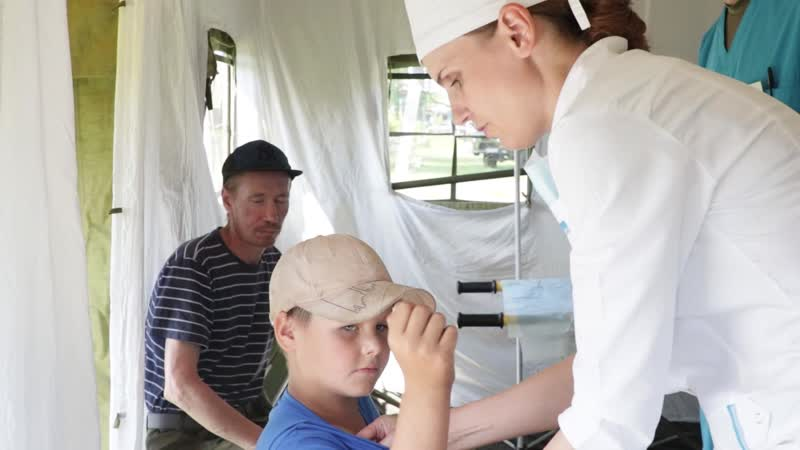 Вакцинация жителей Иркутской области в труднодоступных районах
