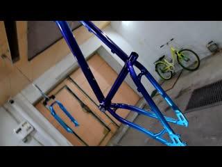 Эксклюзивная покраска велосипеда от Aerosalut. Кенди (Candy) и флейки. Любые расцветки!