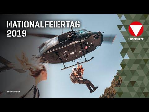 Nationalfeiertag 2019 Live vom Heldenplatz - Angelobung