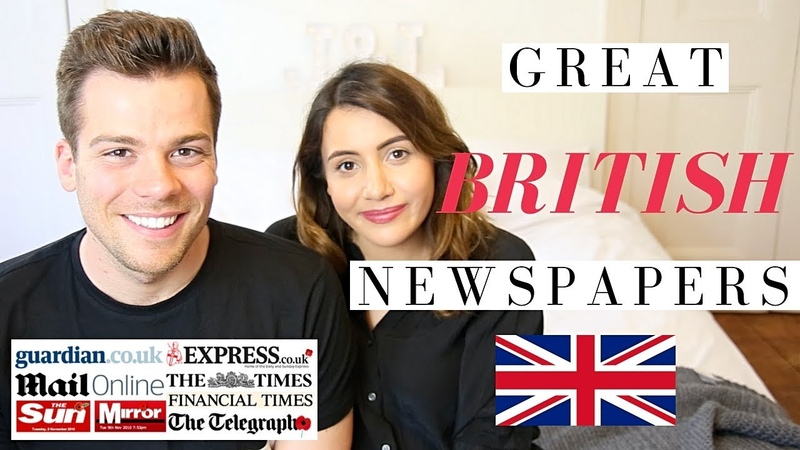 What Newspapers Do British People Read! 🇬🇧🗞British Newspapers