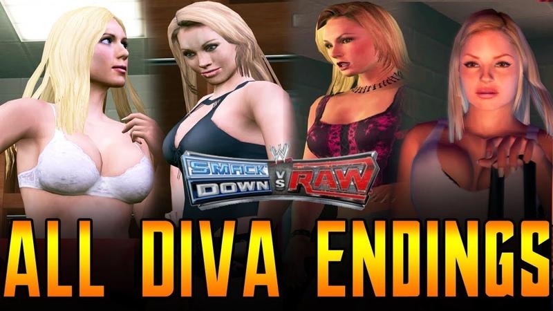 WWE SVR All Diva Endings
