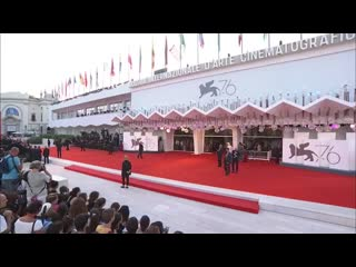An officer and a spy (j'accuse) - red carpet - venice 2019