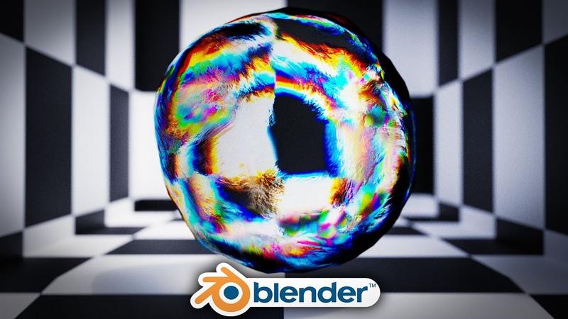 Blender - Stylized Glass Shader in Blender 2.8