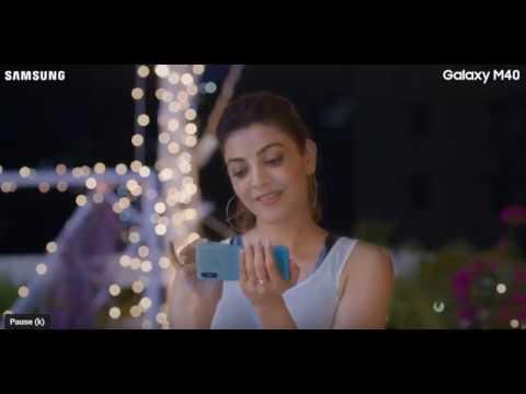 Samsung Galaxy M40 - Kajal Aggarwal goes OMG.