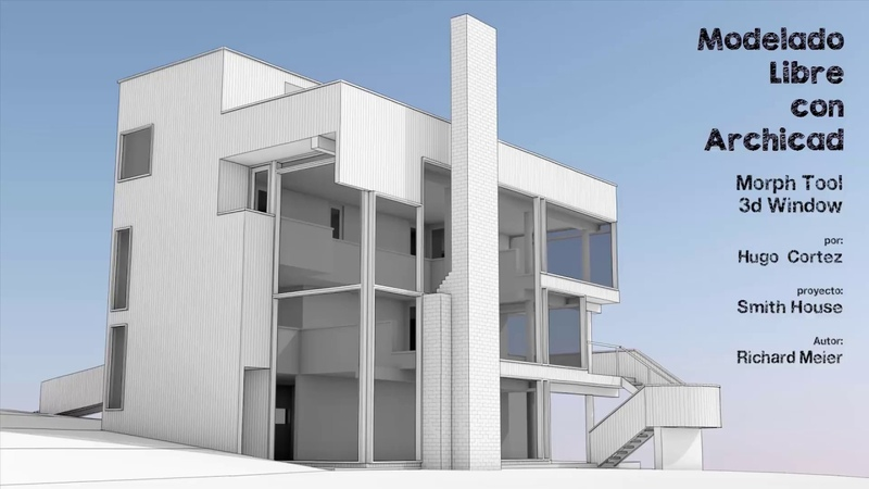 Smith House with Archicad-Morph