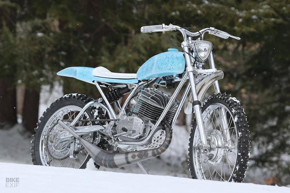 Utopeia Moto Company: скрэмблер Penton Mudlark 1973