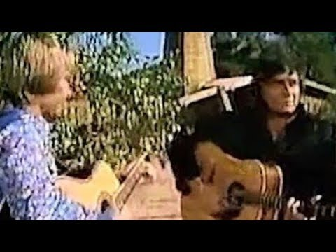 Johnny Cash John Denver - Take Me Home, Country Roads (Rare Footage)