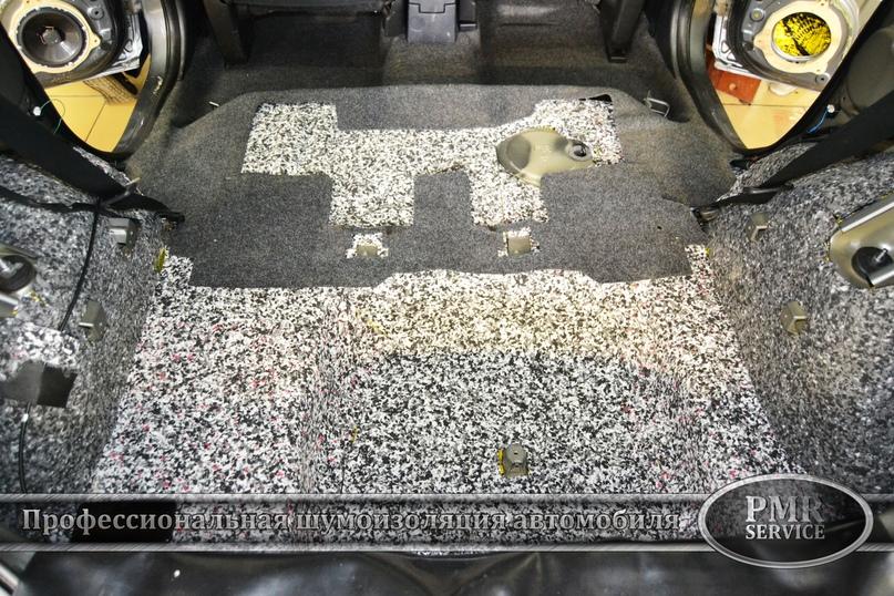 Шумоизоляция Nissan Note, изображение №13