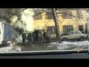 Сотрудники ГИБДД спасли людей от пожара при помощи «Газели»