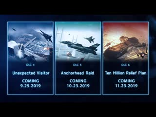 ACE COMBAT 7_ SKIES UNKNOWN Season Pass_ SP Mission Trailer _ PS4, X1, PC