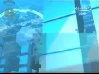 "Окончание ""tele-market"", часы и начало программы ""poytaxt"" на канале toshkent (узбекистан)."