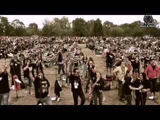 Metallica enter sandman 500 венгерских музыкантов