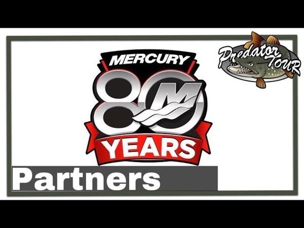 Mercury Pro 80 years | Partners | PredatorTour 2019