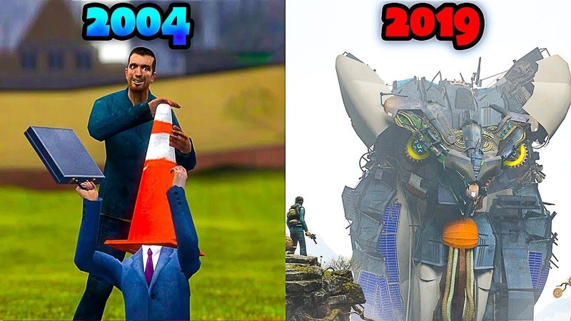 Evolution of Garry's Mod From 2004 to 2019