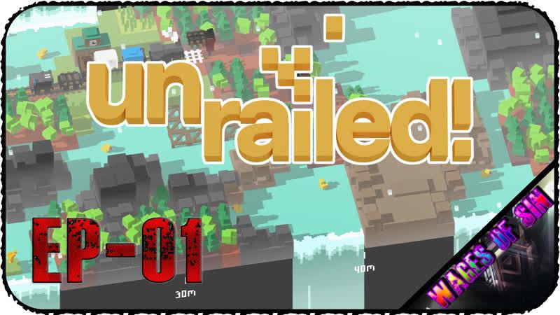 Симулятор железнодорожника - Стрим - Unrailed! [EP-01]