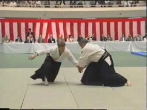 42nd All Japan Aikido Demonstration Miyamoto Shihan 宮本鶴蔵
