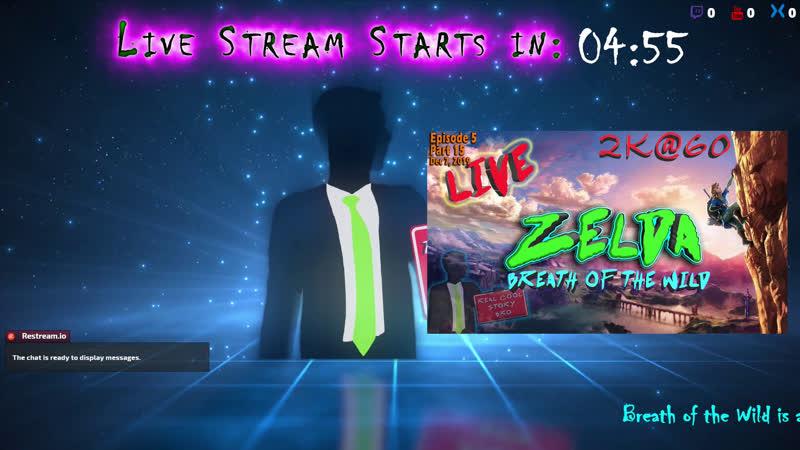 E05 - Zelda: BOTW Live 2k@60 Shrine / DLC hunting