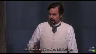 The Met: Live in HD Season 2016-17 Eugene Onegin (Onegin's aria) - Peter Mattei
