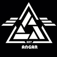 Логотип АНГАР арт-пространство фотостудия