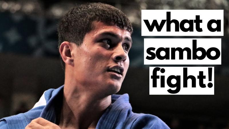 What a SAMBO fight! Uzbekistan vs Kazakhstan - World Youth and Juniors SAMBO Championships 2019