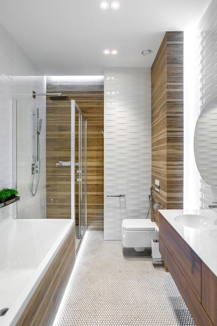 Квартира в московской новостройке от Инны Макаровой, 160 м²  || 02