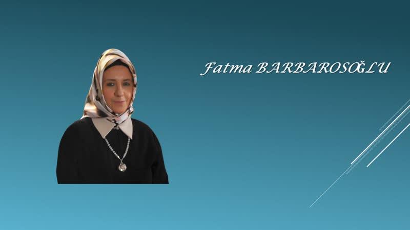 """03 Fatma Barbarosoğlu Mahalle bitti sanal sokak"""" karşılaşma mekanı olacak mı"""