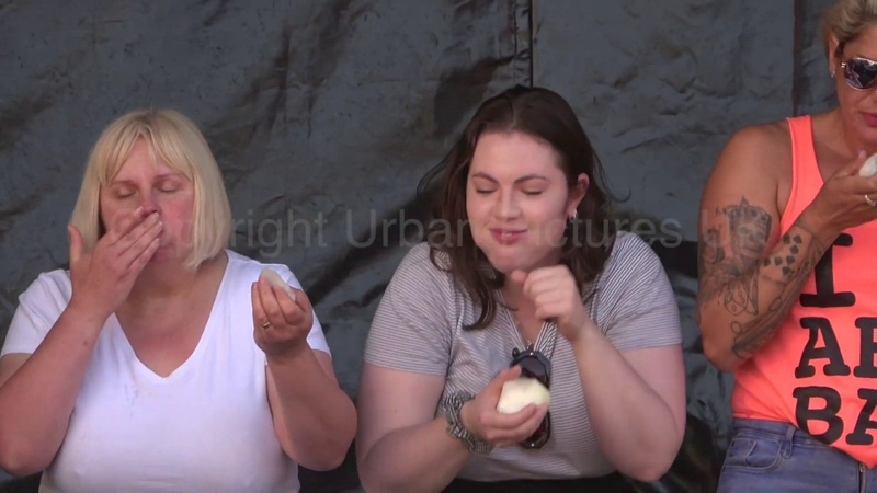 Bizarre! Onion Eating Competition 2019 takes place in the UK