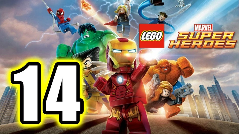 LEGO Marvel Super Heroes Walkthrough PART 14 PS3 Lets Play Gameplay TRUE HD QUALITY