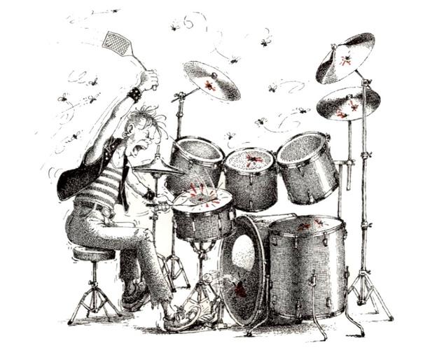 Барабанщики прикольные картинки
