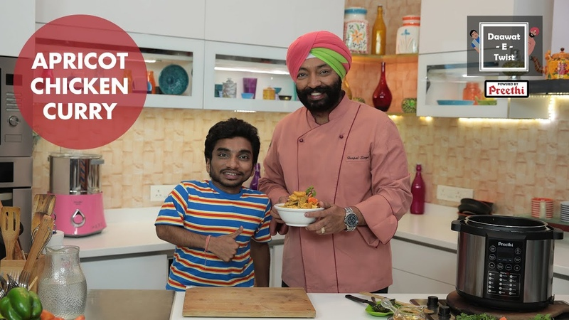 Dawaat E Twist with Chef Harpal Singh ft Chote Miyan Apricot Chicken Curry