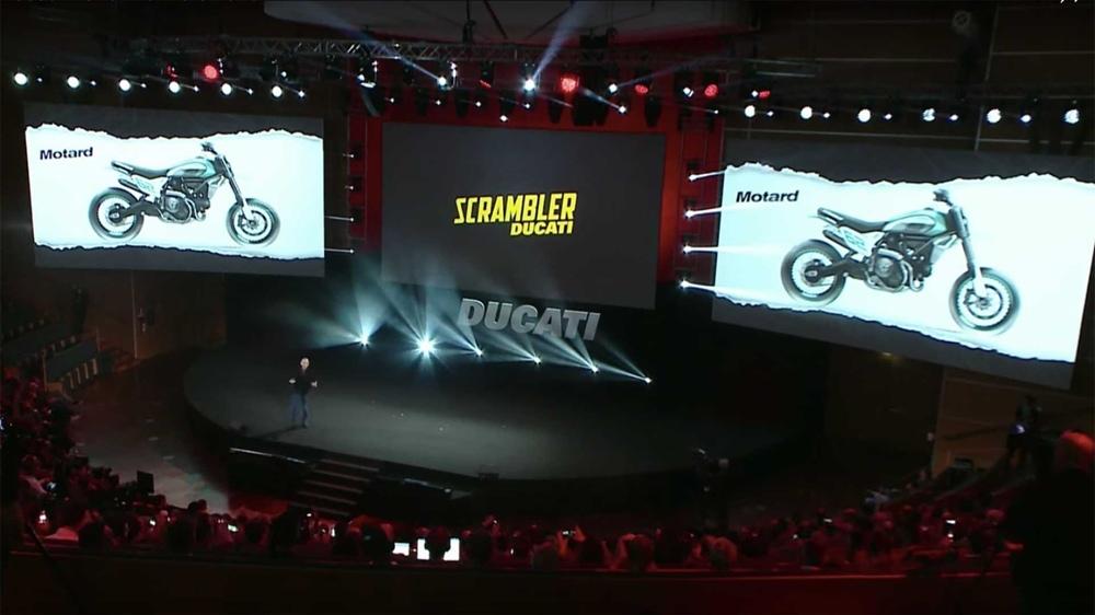 Ducati представят концепты Scrambler Desert X и Scrambler Motard на EICMA 2019