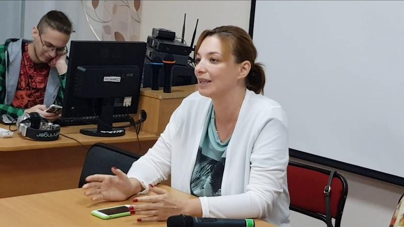 Беседа с заведующей отделения социальной реабилитации КГБУ ХЦСРИ Сиротенко Ксенией Вячеславовной