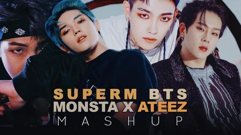 SuperM / BTS / Monsta X / ATEEZ — Jopping/Not Today/Fallin'/Wonderland (MASHUP)