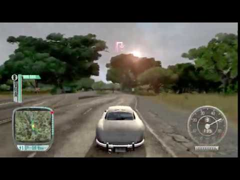 Test Drive Unlimited Project Paradise Car delivery Mercedes Benz 300SL Gullwing