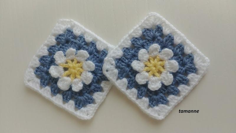 Çiçekli Bebek Battaniye Motifleri