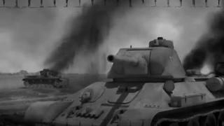Неравная дуэль.Подвиг Советских танкистов под Расейняя.