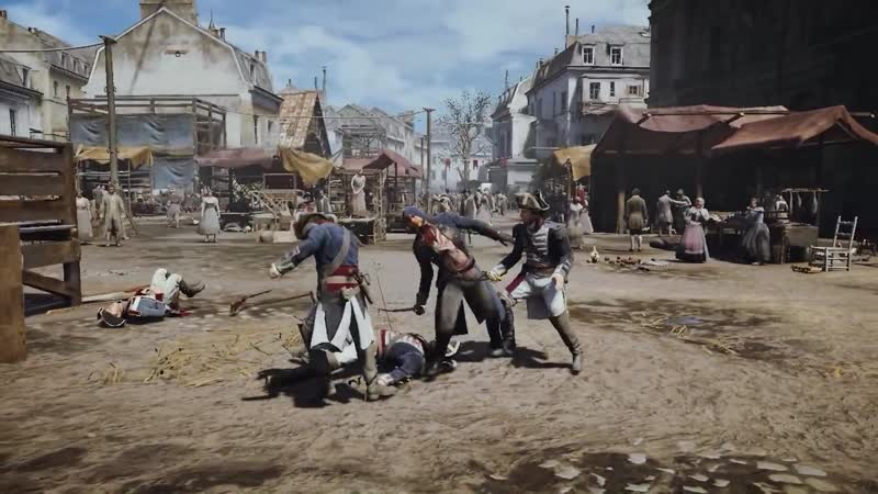 Assassin`s creed unity   combat montage