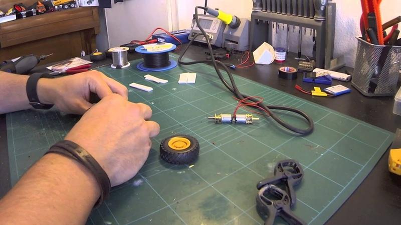 Revell Radlader Umbau Teil 4 Der Antrieb Siku Control Full HD