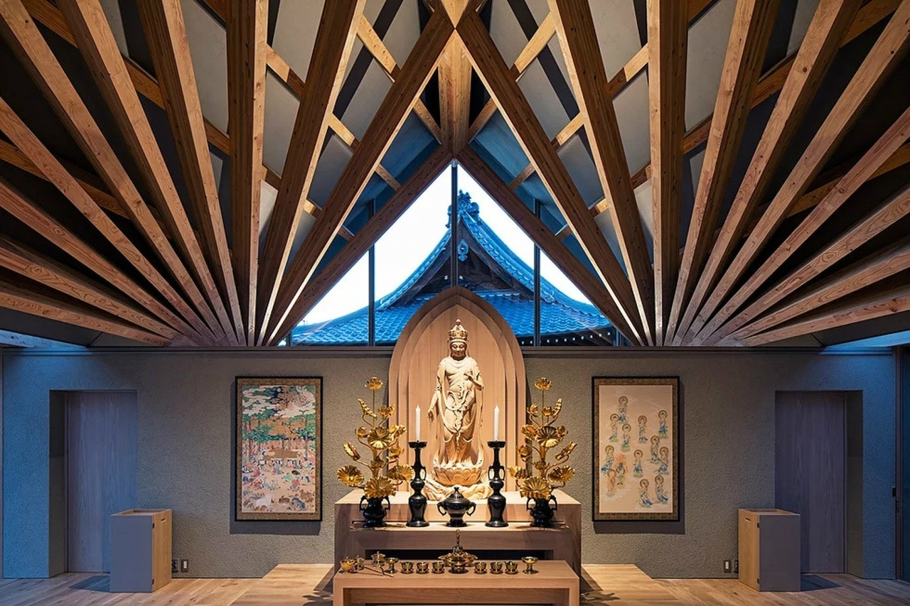 Буддистский храм в Японии