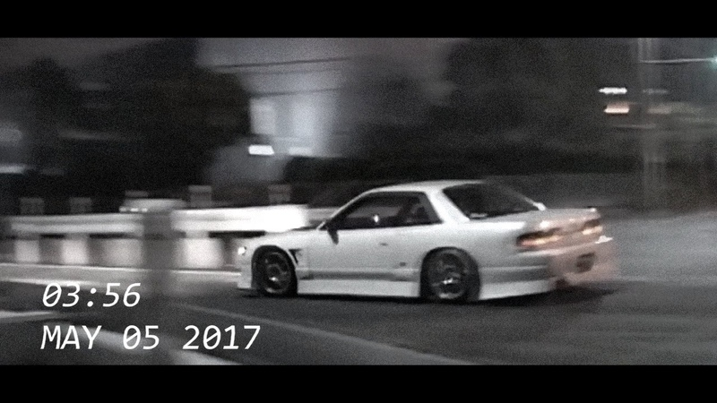 Drifting in Japan Nissan Silvia S13