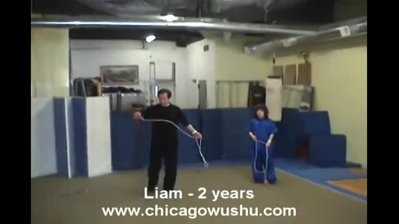 Wushu Ropedart training video