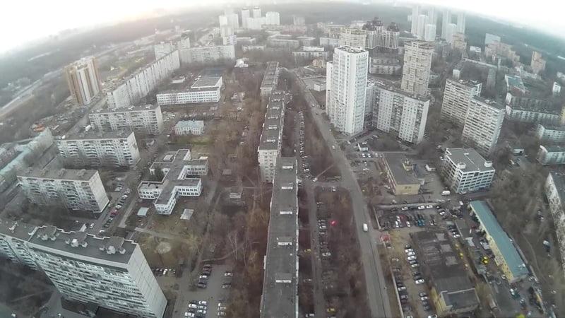 Москва Богородское Вид с высоты