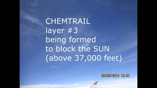 CHEMTRAILS - 3 layers of CHEMCLOUDS - time to stop it ASAP