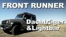 FRONT RUNNER Dachträger, Lightbar und Expeditionsreling auf den Jimny 4x4PASSION 167