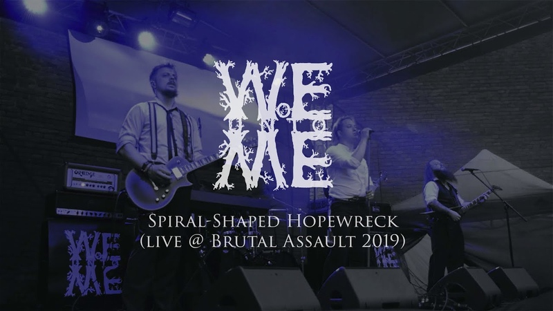 WOE UNTO ME - Spiral-Shaped Hopewreck [Live @ Brutal Assault 2019]