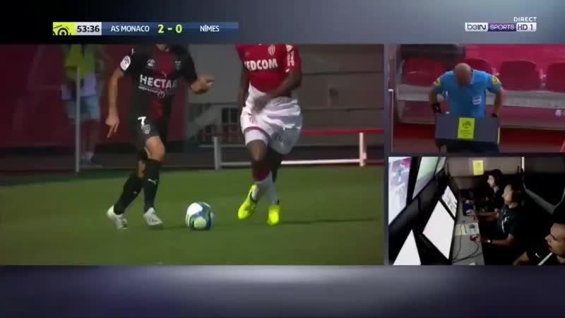 🇫🇷 У «Монако» – 3 удаления в трех матчах. Отличились Фабрегас, Агилар и Жемерсон